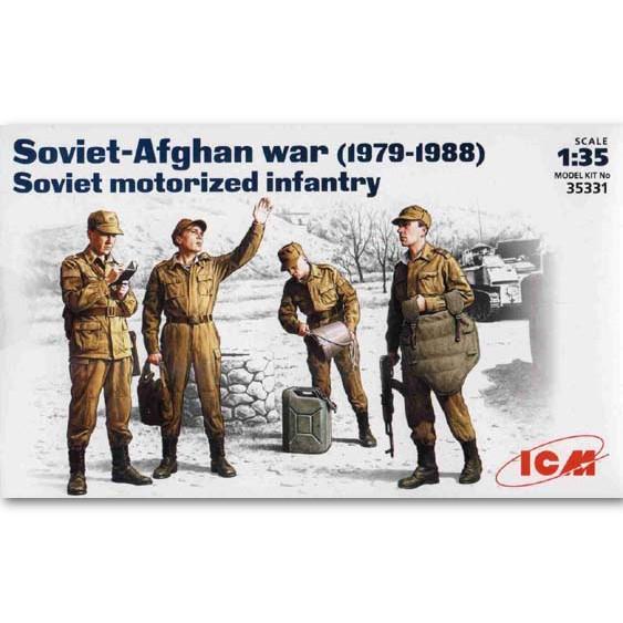 ICM Soviet Motorized Infantry (35331)