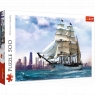 Puzzle 500: Żaglowiec na tle Chicago (37120)
