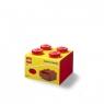 Szufladka na biurko klocek LEGO Brick 4 - Czerwona (40201730)