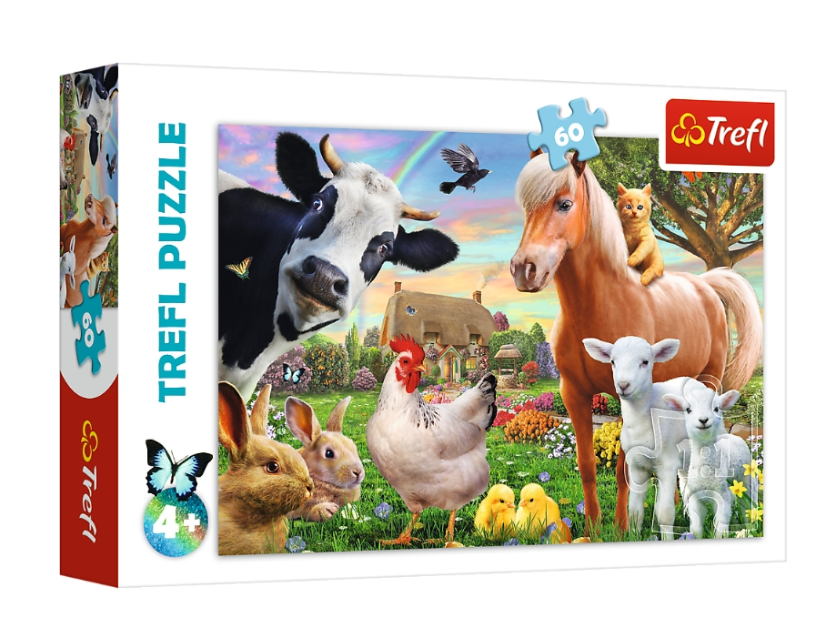 Puzzle 60: Wesoła farma (17320)