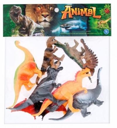 Figurka Mega Creative Zestaw Dinozaurów 8szt (460484)