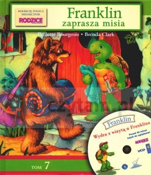 Franklin. Tom 7. Franklin zaprasza misia + VCD Paulette  Bourgeois