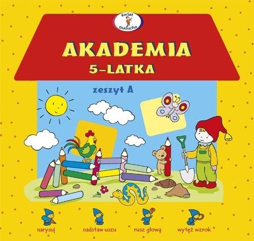 Akademia 5-latka zeszyt A Krassowska Dorota