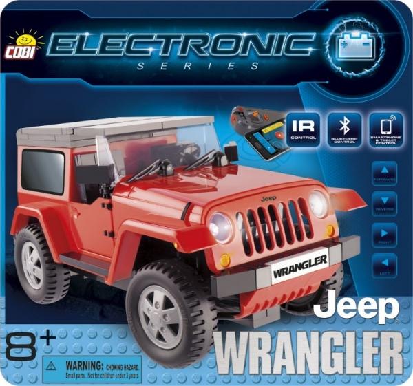 Electronic Jeep Wrangler z bluetooth