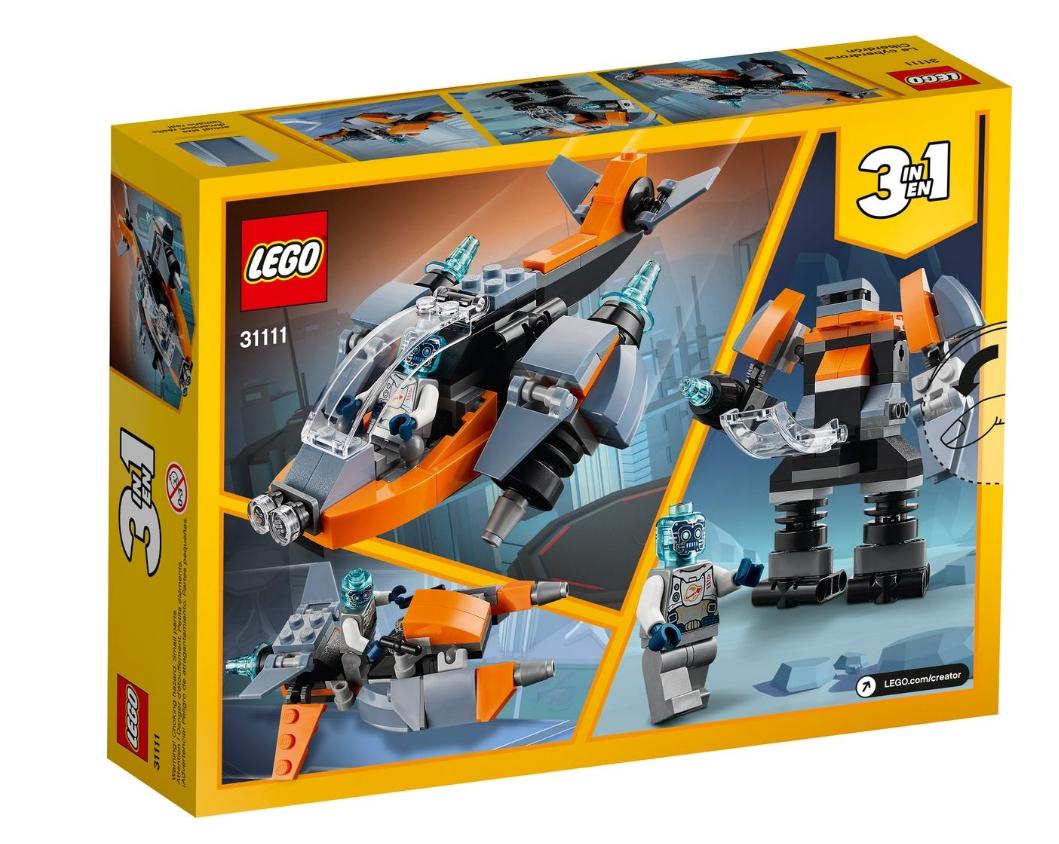 Lego Creator: Cyberdron (31111)