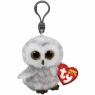 Maskotka-brelok Beanie Boos: Owlette - Sowa Biała (35020)