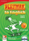 Playway to English 3 Activity Book with CD-ROM