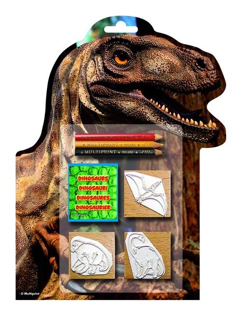 Pieczątki Dinozaury