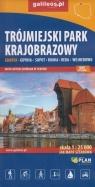 Trójmiejski Park Krajobrazowy - mapa - 1 : 25 000
