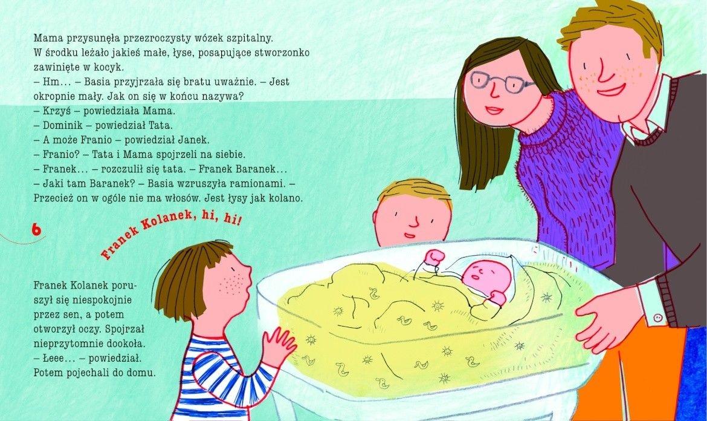 Basia i nowy braciszek Stanecka Zofia, Oklejak Marianna
