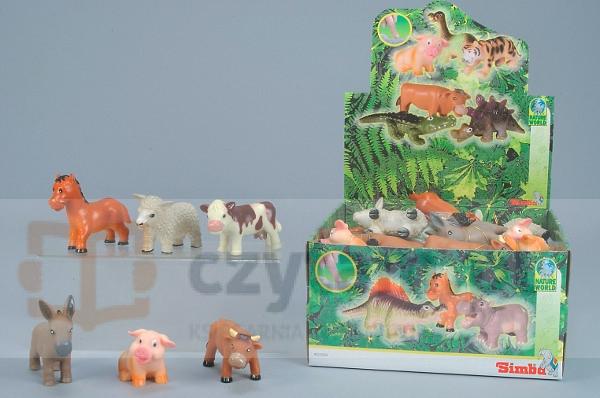 SIMBA Zwierzęta Farmerskie z gumy (104320720)