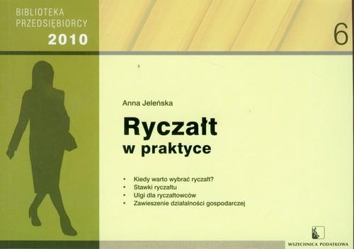 Ryczałt w praktyce 2010 Jeleńska Anna