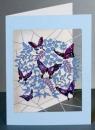 Karnet PM920 wycinany + koperta Motyle