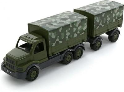 Ciężarówka Wader-Polesie z plandeka wojskową stalker (49209)