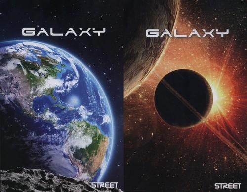 Zeszyt A4 Galaxy w kratkę 60 kartek 6 sztuk mix