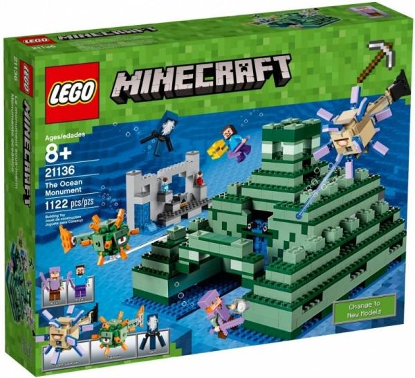 Lego Minecraft: Oceaniczny monument (21136)