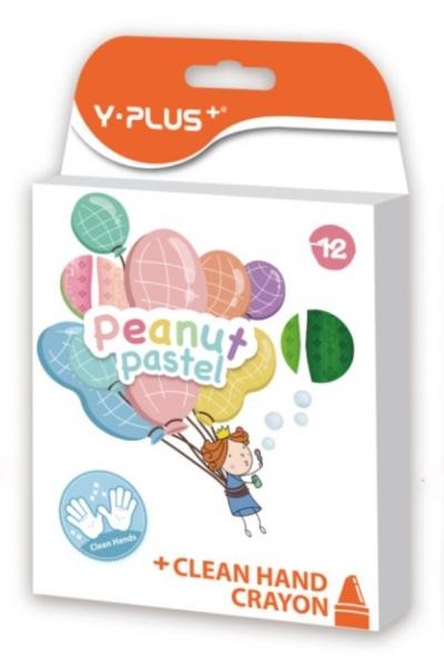 Kredki świecowe Peanut Pastel 12 kolorów