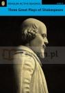PLAR Three Great Plays of Shakespeare bk/cd (4)