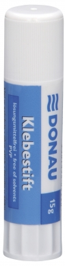 Klej w sztyfcie DONAU 15g display 20 sztuk