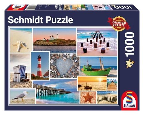 Puzzle Nad morzem 1000