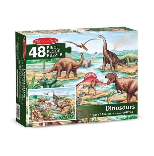 Puzzle Melissa Dinozaury