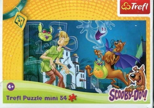 Puzzle Mini 54 Nieustraszony Scooby Doo (19421)