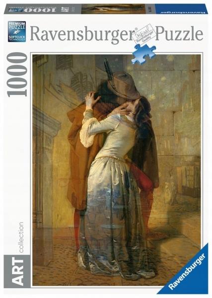 Puzzle 1000: Hayez, Pocałunek (154050)