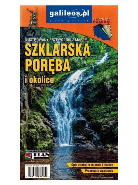 Przewodnik z mapami - Szklarska Poręba w.2019 praca zbiorowa