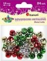 Dodatek dekoracyjny Craft-fun dzwoneczki dekoracyjne 1,5 mix DIYXM040  (M044)
