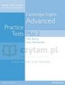Cambridge English Advanced Practice Tests Plus Students' Book without Key Nick Kenny, Jacky Newbrook