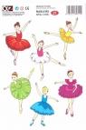 Naklejki Alfika i Zetki 21 Baletnice