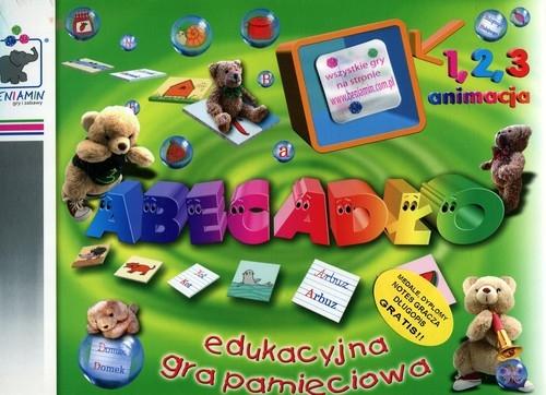 Edukacyjna gra pamięciowa Abecadło
