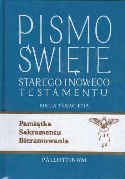 Biblia Tysiąclecia - ST i NT (bierzmowanie) praca zbiorowa