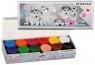 Farby plakatowe, 12 kolorów x 20ml - Cuties psy (437221)