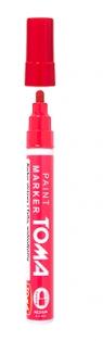 Marker olejny 2.55 mm - czerwony TO-44022