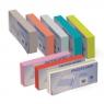 Przekładka Intensywna do segregatora 240 x 105 mm mix kolorów z 4 otworami