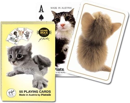 Karty do gry Piatnik 1 talia Hanadeka - Koty