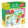 Carotina Gry dla przedszkolaków - Dopasuj wyrazy (PL61211)