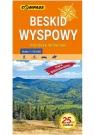 Beskid Wyspowy Pogórze Wiśnickie mapa wodoodporna