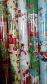 Papier świąteczny BN P2 mikołaje 200x 70