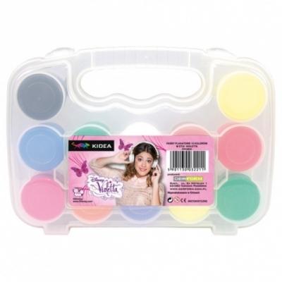 Farby plakatowe 12 kolorów w etui Violetta .