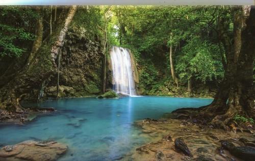 Kalendarz 2018 KTT Trójdzielny płaski Wodospad