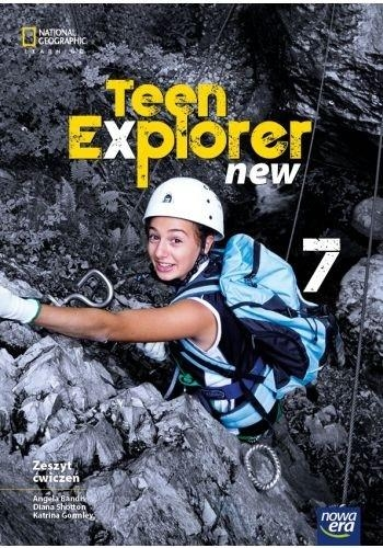 Teen Explorer New. Zeszyt ćwiczeń do języka angielskiego dla klasy siódmej szkoły podstawowej - Szkoła podstawowa 4-8. Reforma 2017 Phillip McElmuray