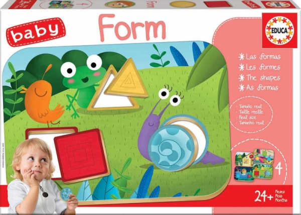 Puzzle baby gra formy (18121)