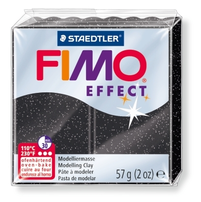 Masa termoutwardzalna Fimo effect. Pył księżycowy  marmurkowy. (8020-903)
