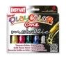 Farby w sztyfcie playcolor metallic 6 kolorów metalicznych