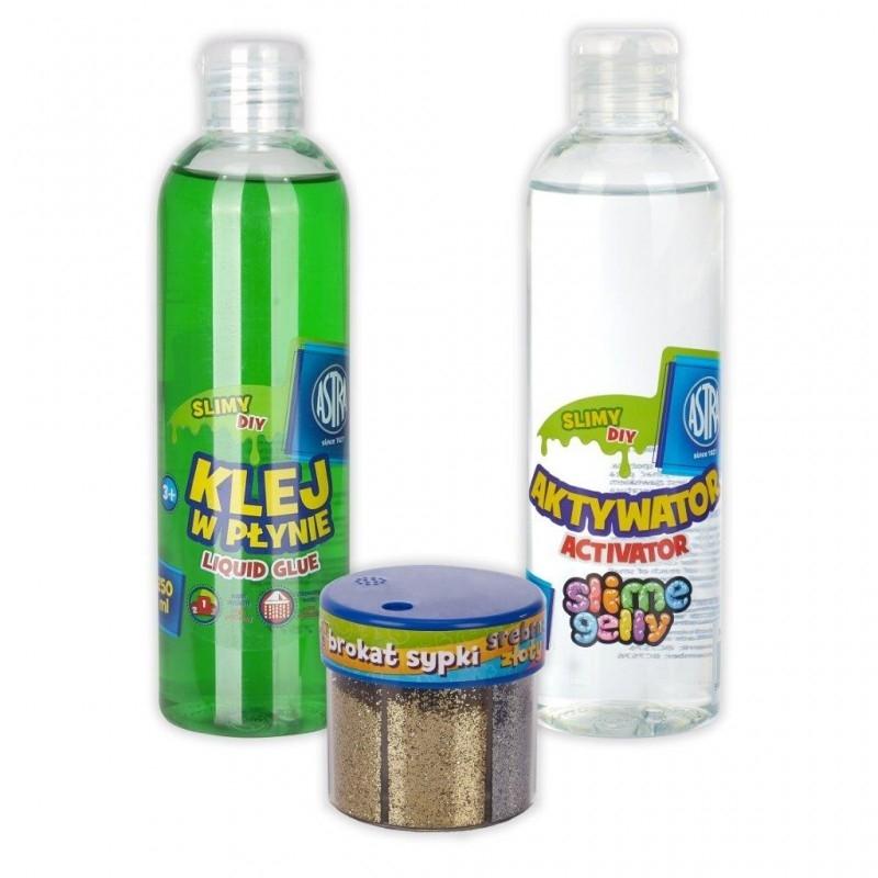 Zestaw Astra do zrobienia slime, zielony (334120015)