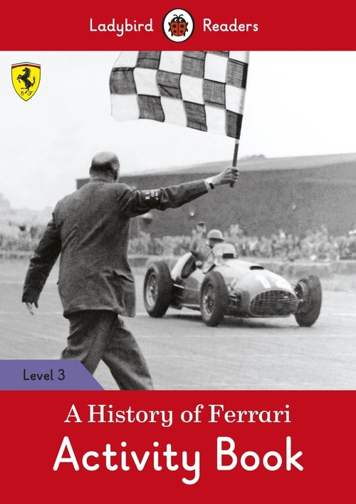 A History of Ferrari Activity Book