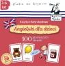 Angielski dla dzieci 100 pierwszych słów Książka + karty obrazkowe