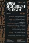 Studia Socjologiczno-Polityczne 1-2/2016